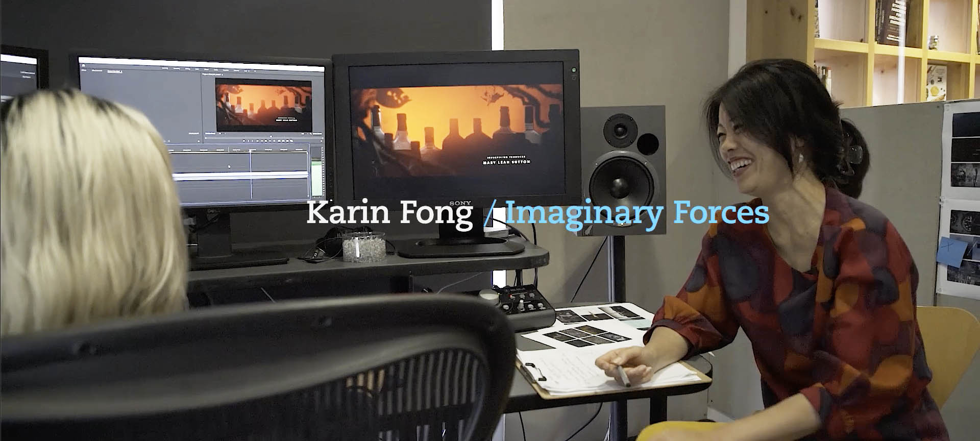 Karin Fong Title designer Imaginary Forces