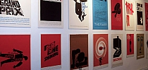 Saul Bass posters and storyboards in London