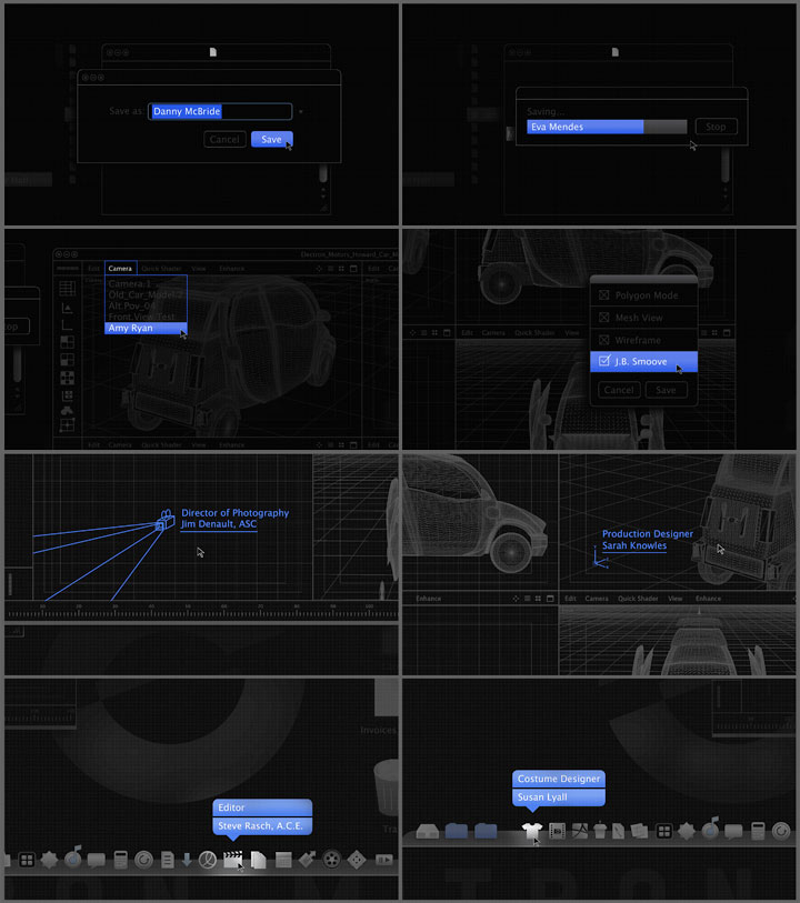 Clear History title sequence, post pitch storyboard
