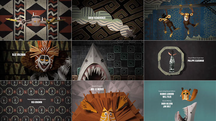 Madagascar: Escape 2 Africa title sequence - Watch the Titles
