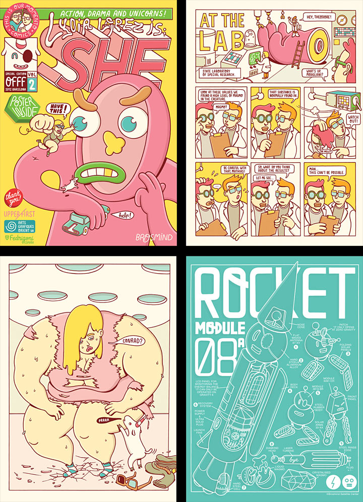 OFFF Barcelona 2012 titles, SHE comic book