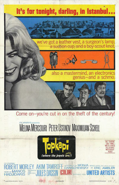 Topkapi (English poster)