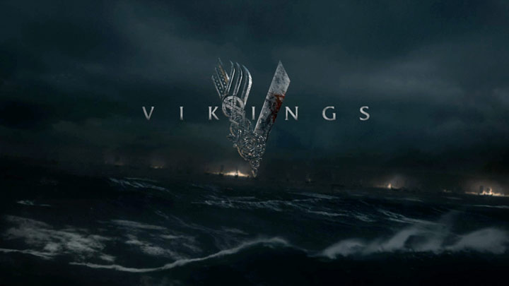 Vikings title sequence by The Mill (still), the raid