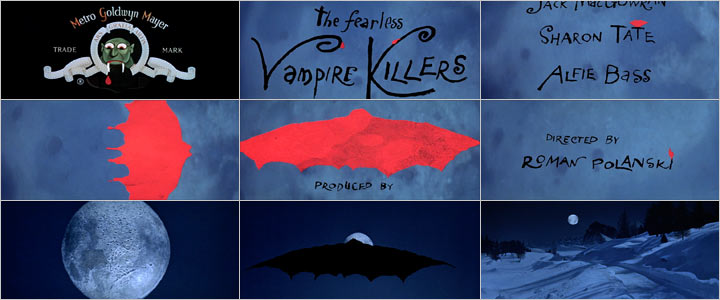 The Fearless Vampire Killers (stills)