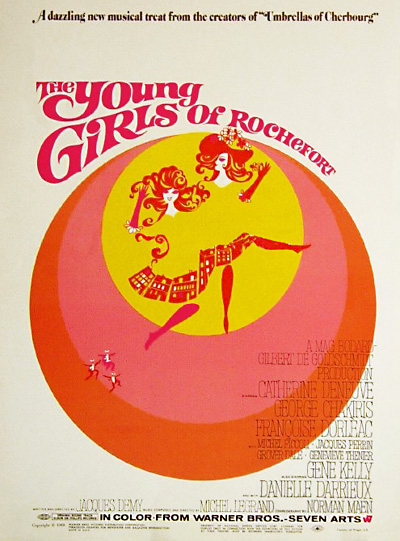 The Young Girls of Rochefort, English poster